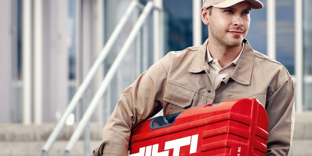 Hilti's mobile repair service makes long waits for damaged equipment a thing of the past.