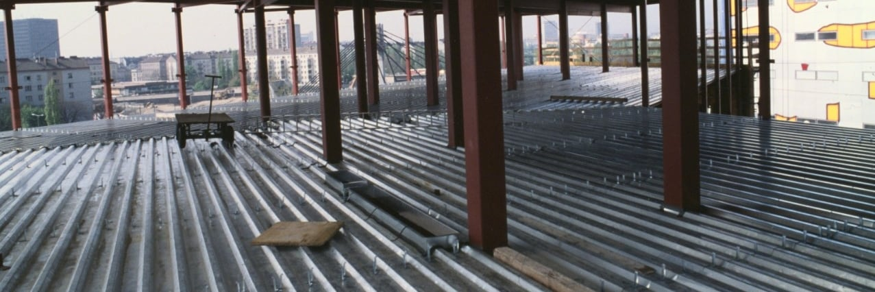 Permanent formwork applications for building construction