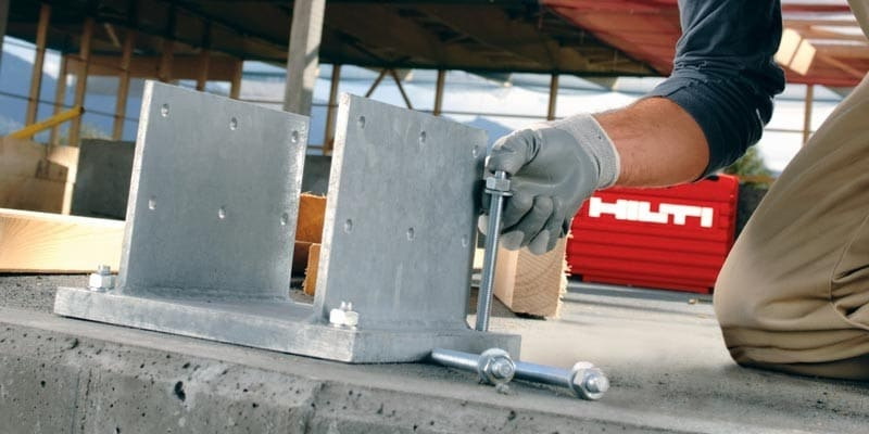 Hilti anchor solutions