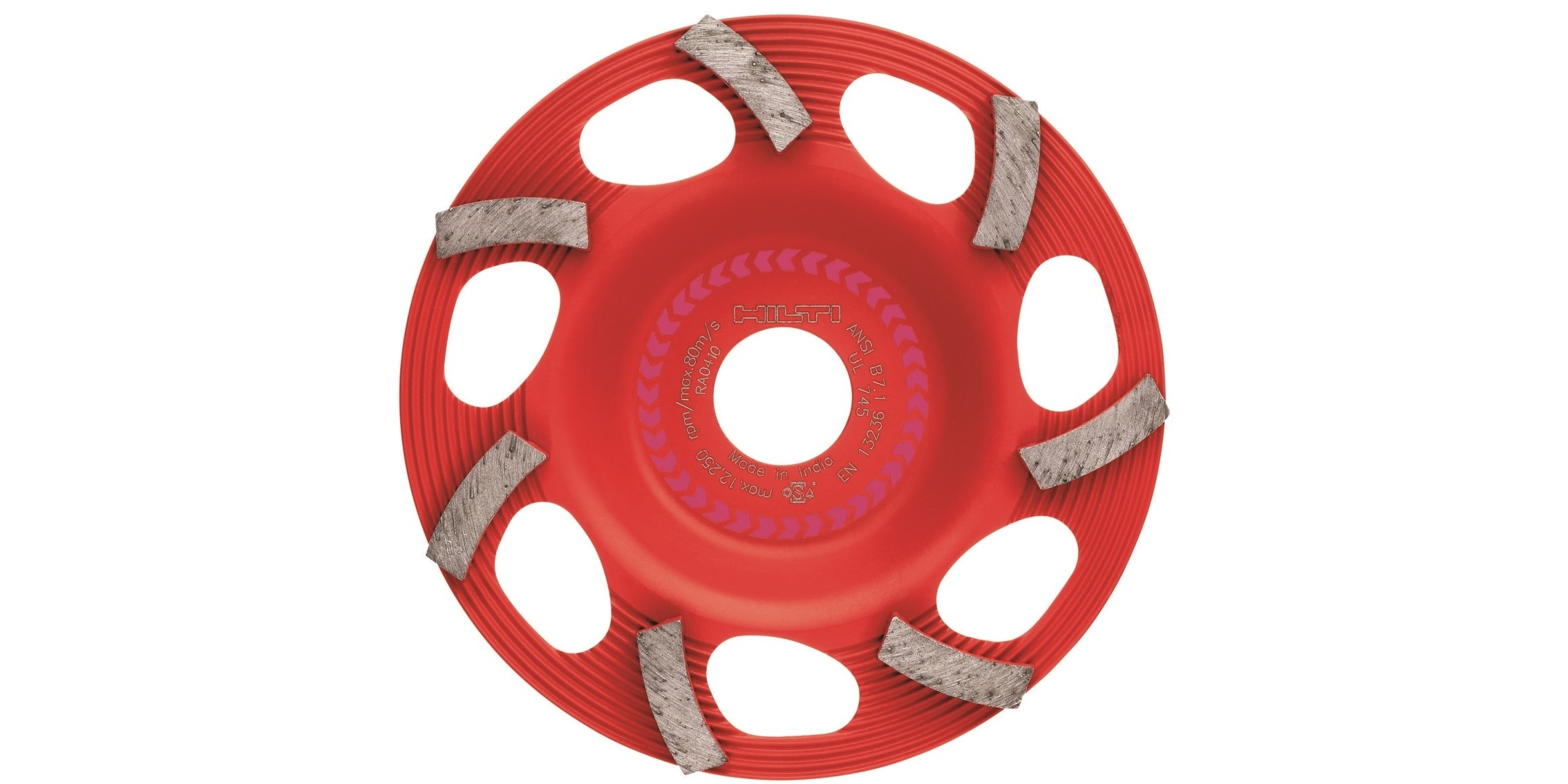 Ultimate diamond cup wheel for the DG 150, for removing all types of thin coatings such as paint, adhesive and epoxy