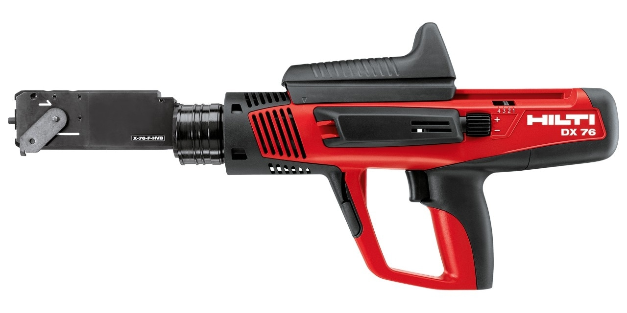 Hilti DX 76 semi-automatic powder-actuated tool