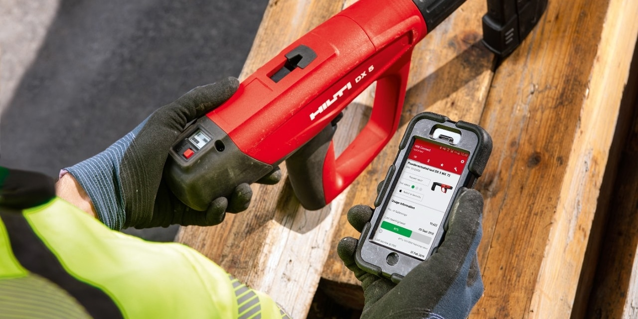 Hilti Smart Tools and Connect App