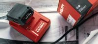 C 4/12-50 Compact charger for Hilti 12V Li-ion batteries Applications 1