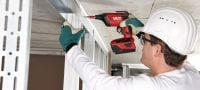 SD 5000-A22 Cordless drywall screwdriver Applications 1