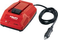 C4/36-DC Multi-voltage DC car charger for all Hilti Li-ion batteries