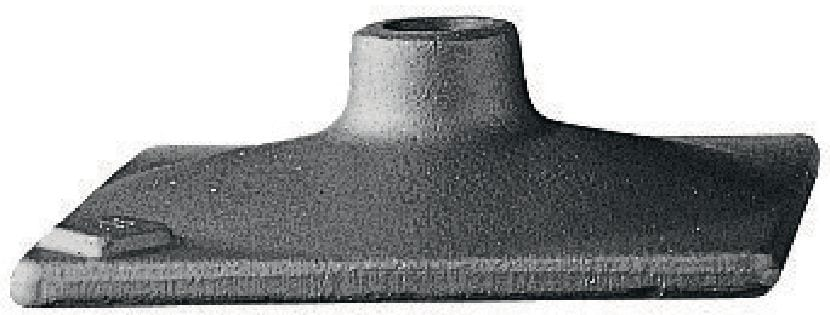 TP-STP Universal tamping tool head for compacting base materials using the SDS Max (TE-Y) and TE-S shank