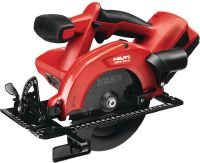 SCW 22-A 22 V cordless, lightweight circular saw for cutting materials up to 57 mm thick