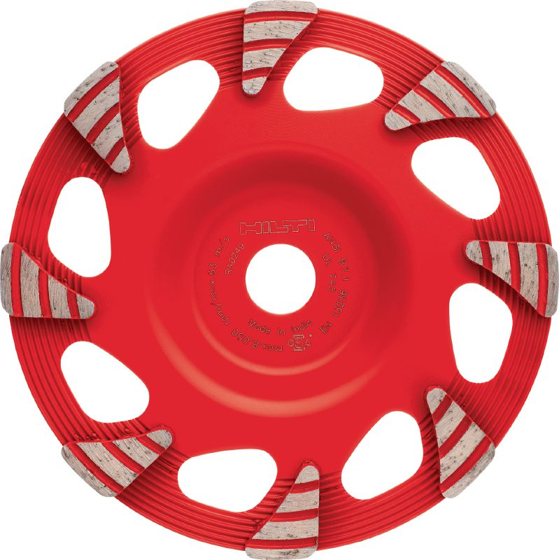 SPX universal Ultimate diamond cup wheel for the DG 150, for grinding all types of concrete, screed and natural stone